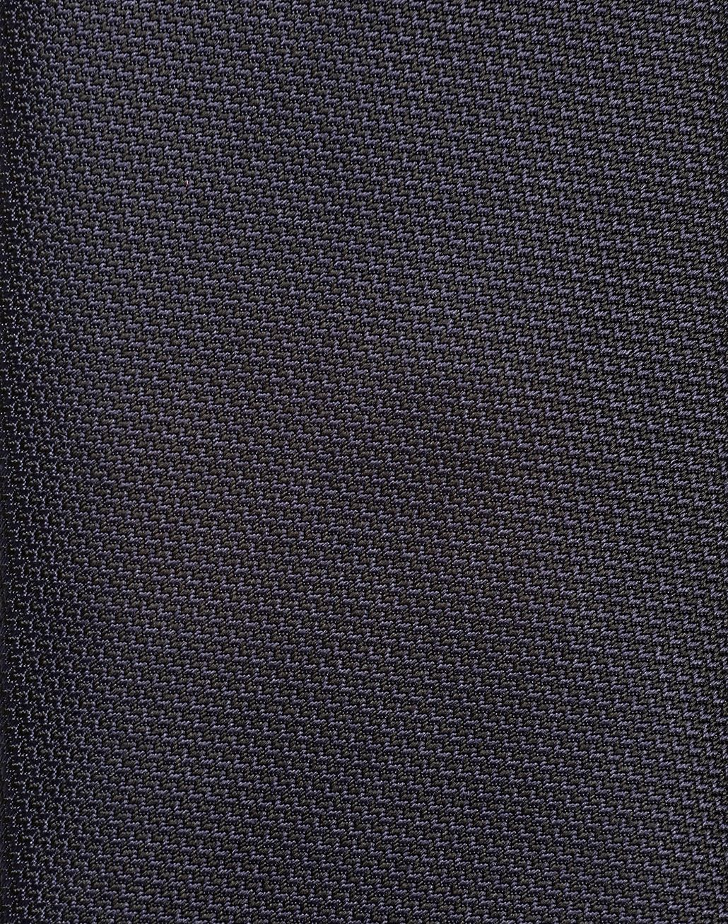 BRIONI Navy Blue and Black Micro-Designed Tie Tie Man d
