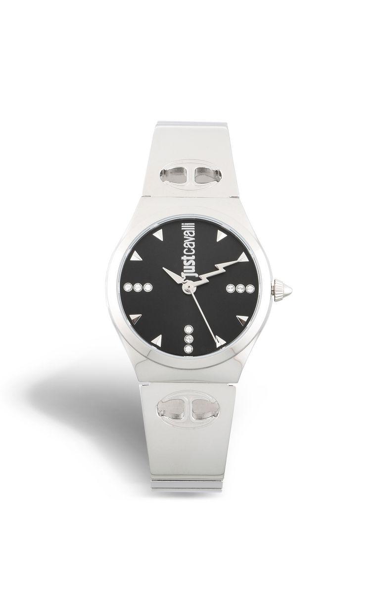 JUST CAVALLI Semi-rigid LOGO bracelet watch Watch Woman f