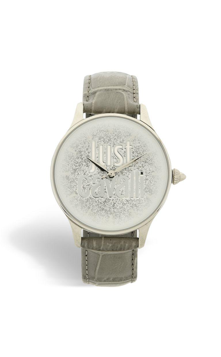 JUST CAVALLI LOGO watch with steel case Watch Woman f