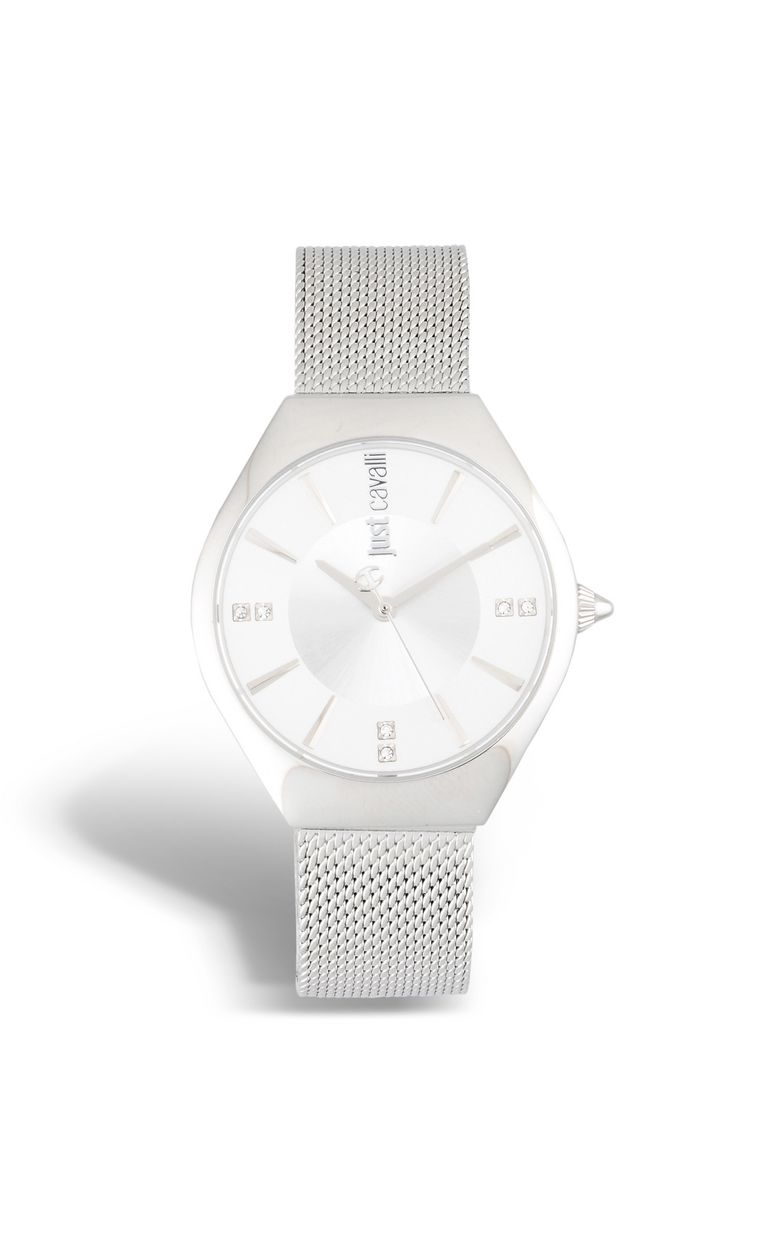 JUST CAVALLI RELAXED slim steel watch Watch Woman f