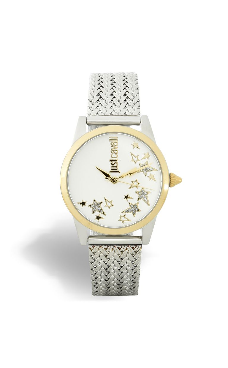 JUST CAVALLI RELAXED two-tone steel watch Watch [*** pickupInStoreShipping_info ***] f