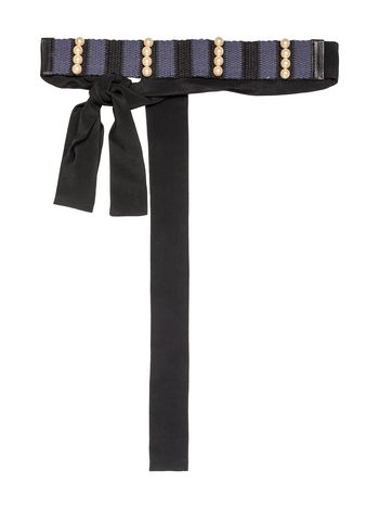 Marni Hairband in fabric and beads Woman
