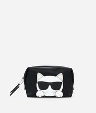 KARL LAGERFELD K/Ikonik Choupette Washbag Cosmetic case Woman f