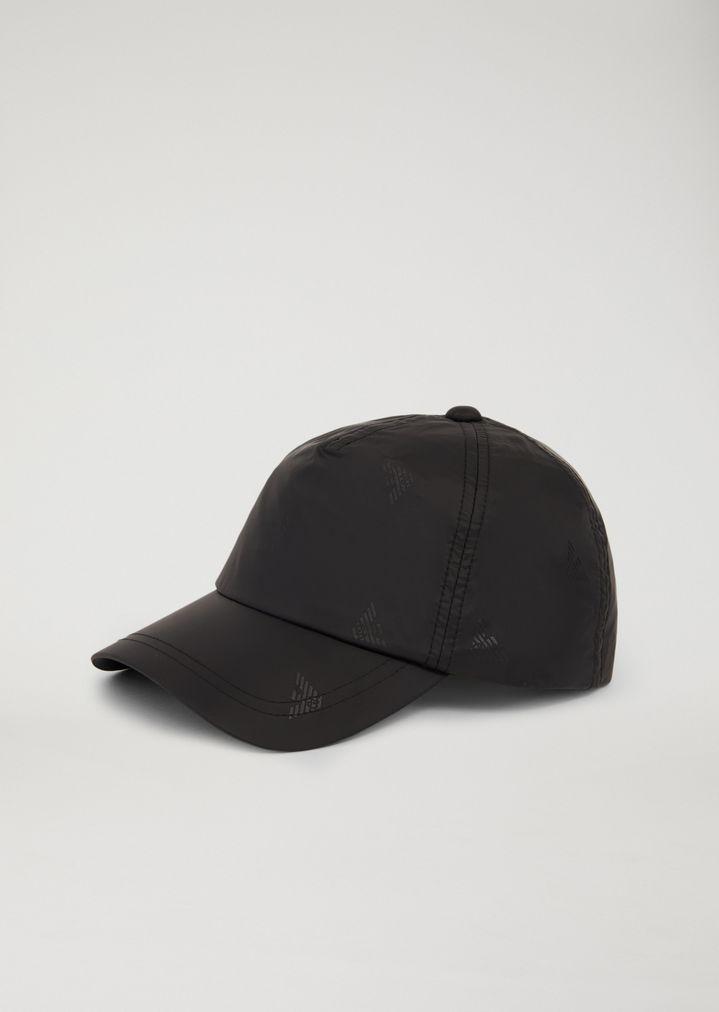 43ac5da165f61 TECHNICAL SNAPBACK SPORTS CAP WITH LOGO