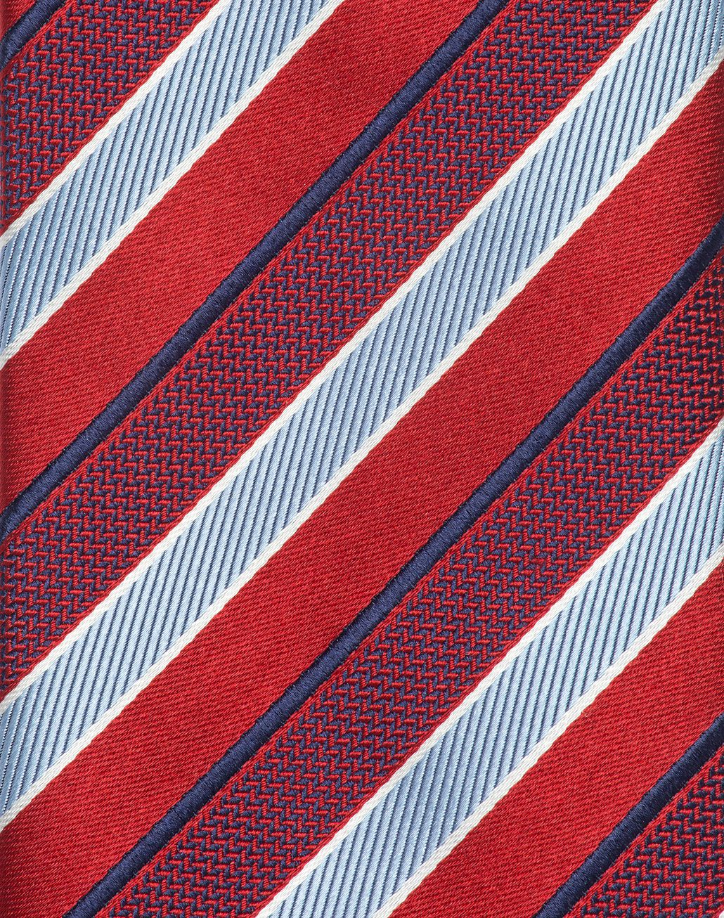 BRIONI Red Regimental Tie Tie Man d