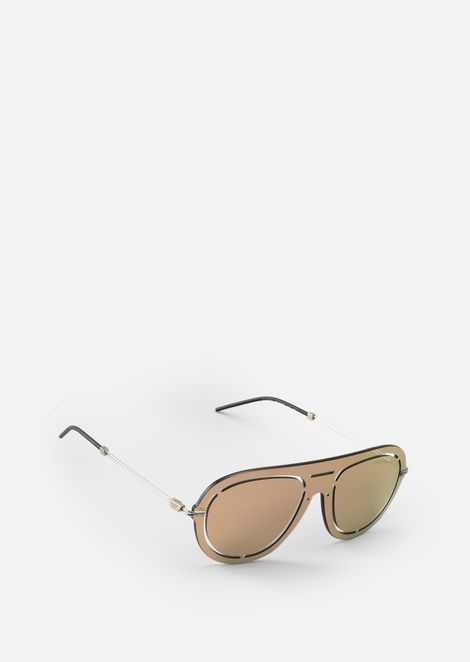 b0daf85ee6cb Laser-cut shield sunglasses
