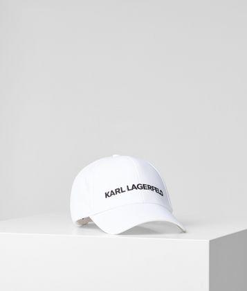 KARL LAGERFELD KARL ESSENTIAL LOGO CAP