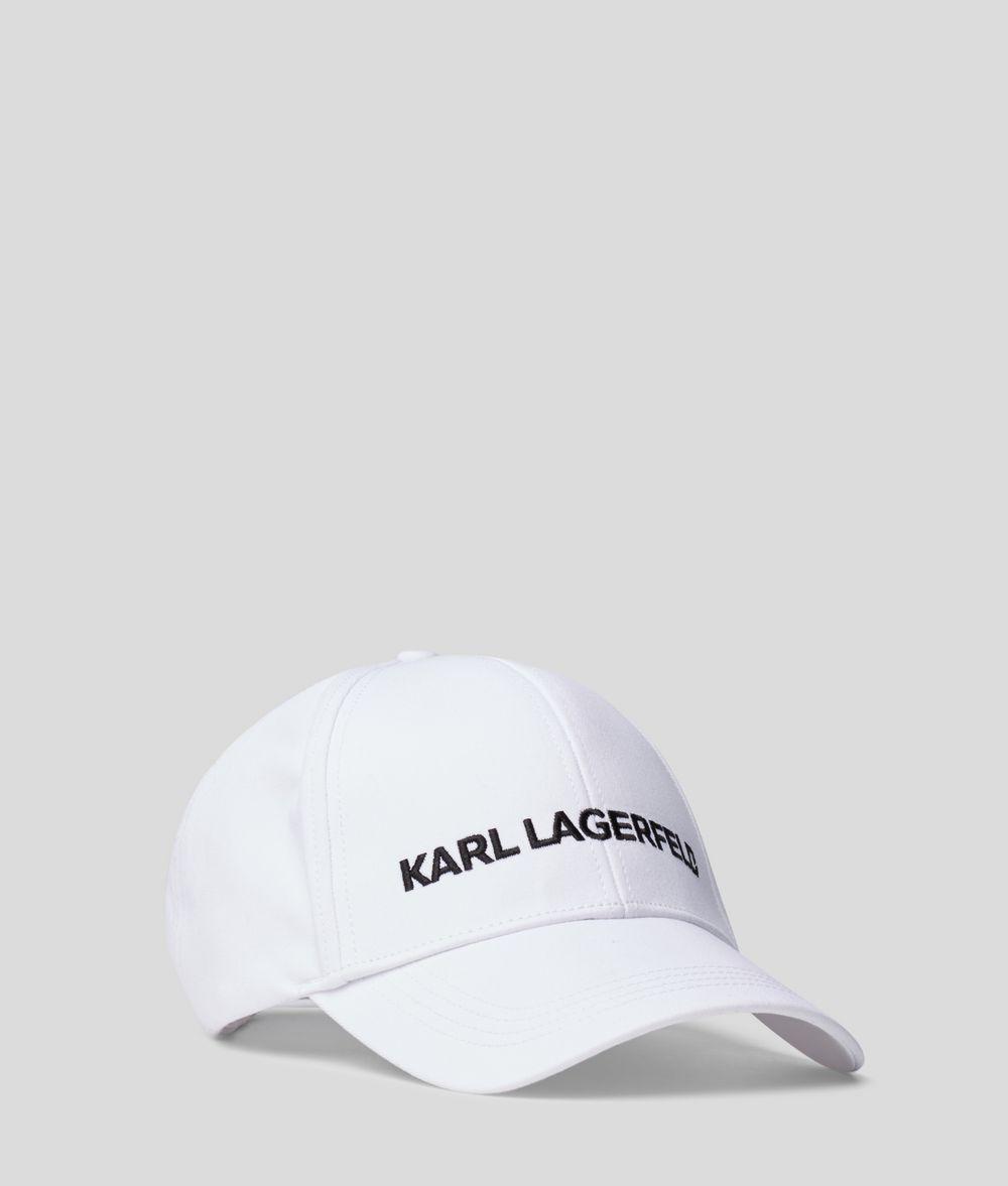 KARL LAGERFELD Karl essential logo cap Hat E d