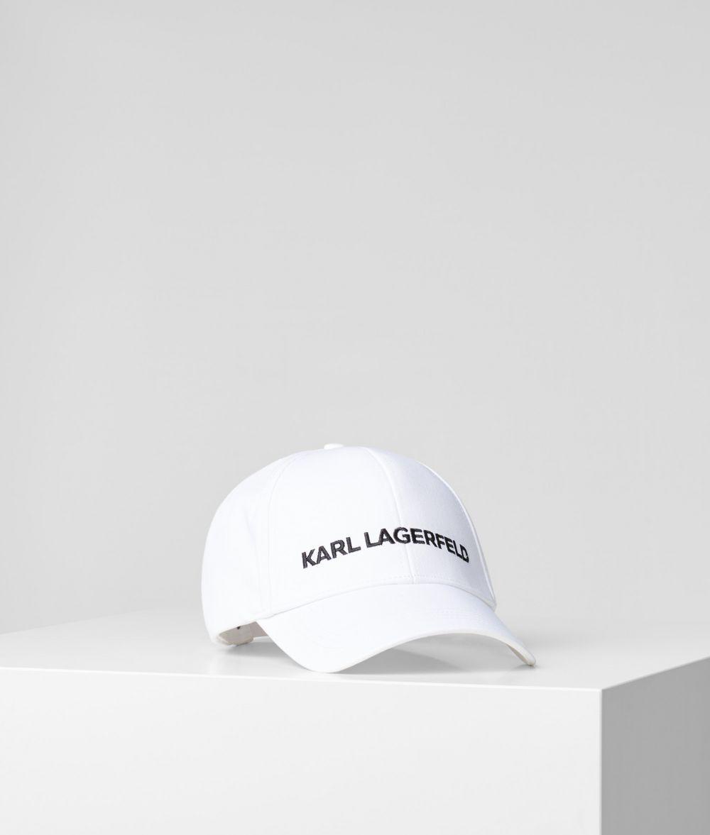 KARL LAGERFELD Karl essential logo cap Hat E f