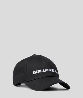 KARL LAGERFELD KARL'S ESSENTIAL LOGO CAP