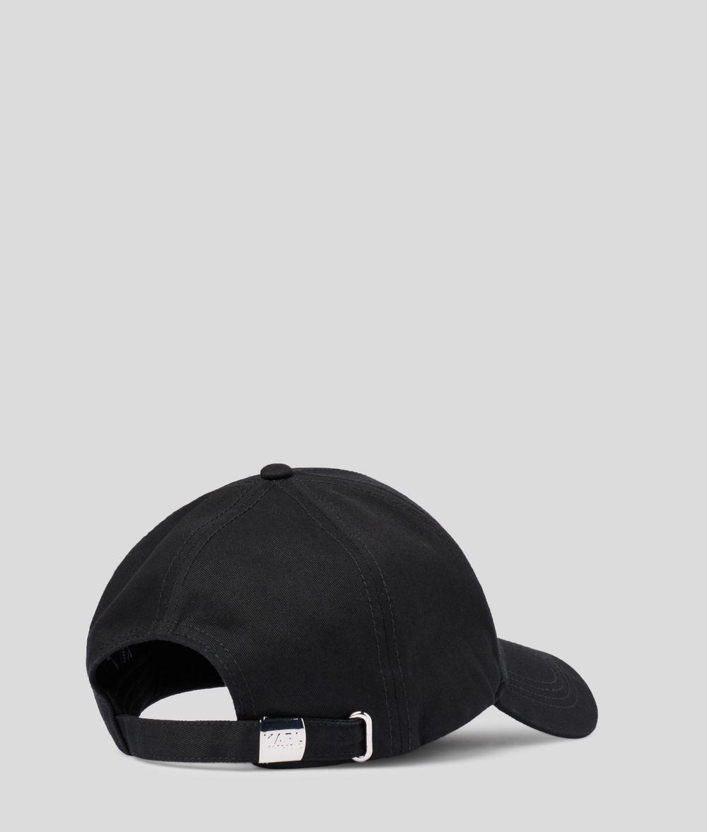 KARL LAGERFELD Karl'S Essential Logo Cap  Hat E d