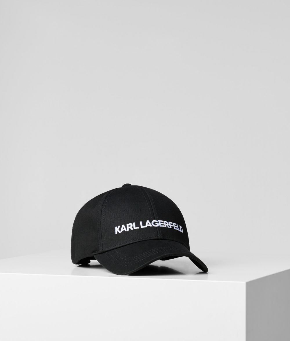 KARL LAGERFELD Karl'S Essential Logo Cap  Hat E f
