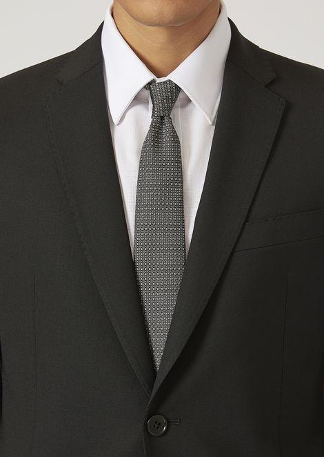 Cravatta in seta jacquard