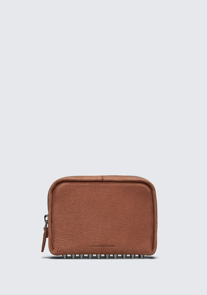 ALEXANDER WANG SMALL LEATHER GOODS Women TERRACOTTA FUMO COSMETIC POUCH