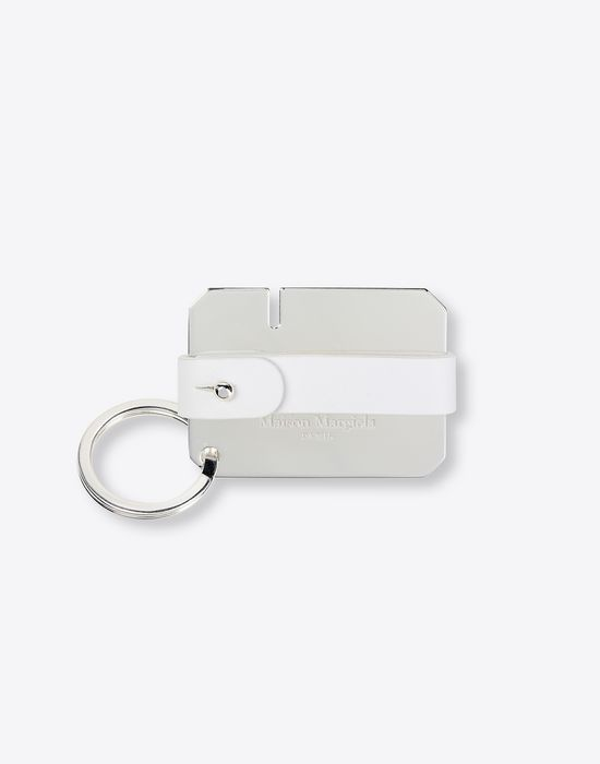 MAISON MARGIELA Calfskin and brass key ring Key ring [*** pickupInStoreShippingNotGuaranteed_info ***] f