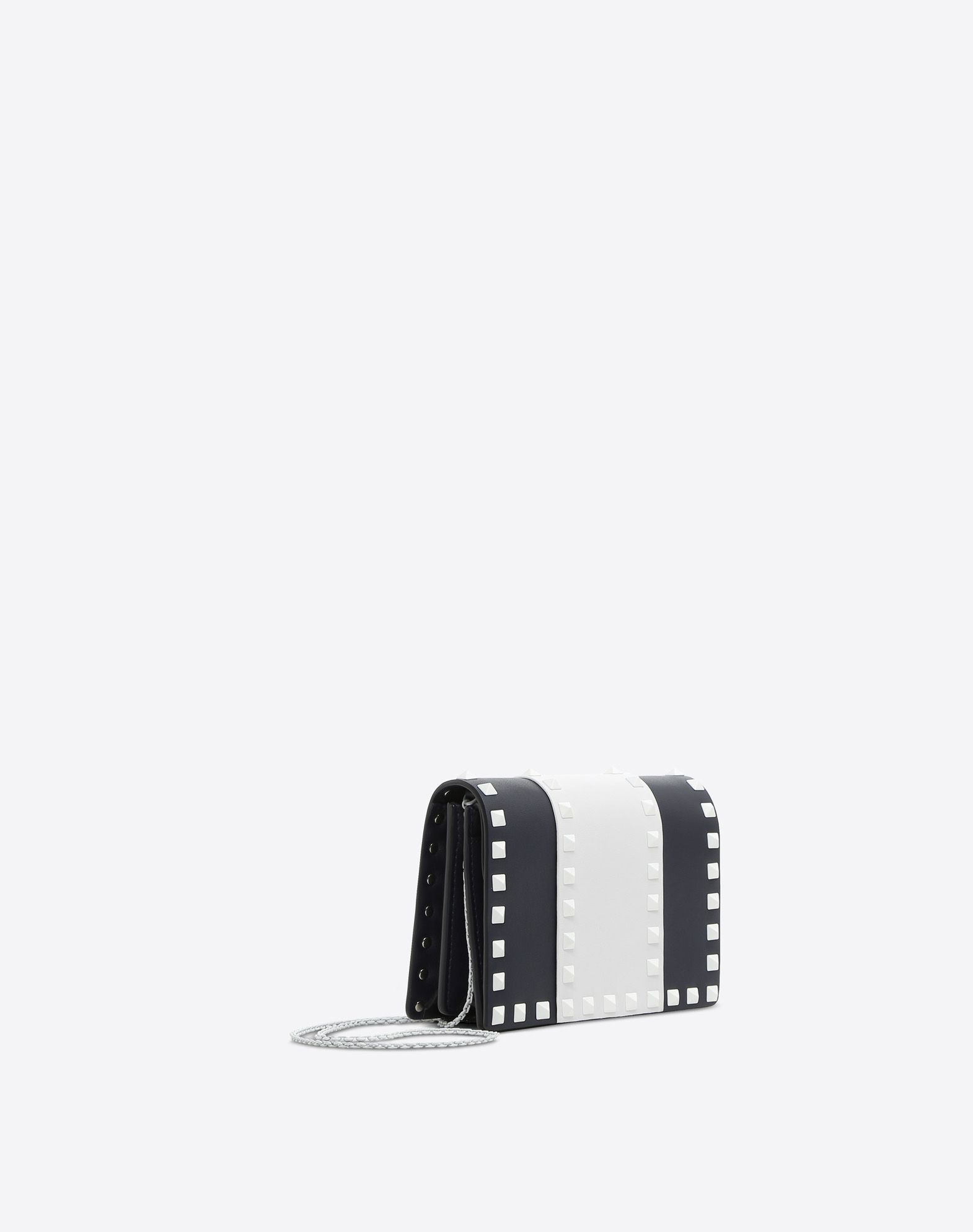 VALENTINO Studs Two-tone Magnetic fastening Fully lined  46558006kf