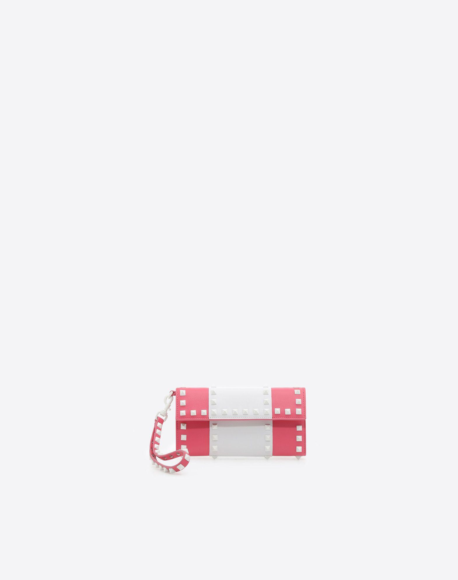 VALENTINO Studs Two-tone Internal zip pocket  46558008gq