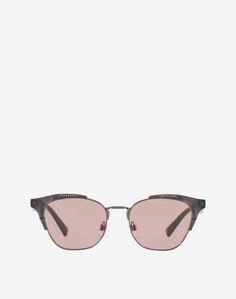 VALENTINO OCCHIALI Sunglasses D Metal and Acetate Sunglasses f