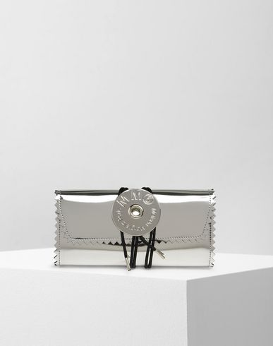 MM6 MAISON MARGIELA Wallet D Metallic twist tie wallet f