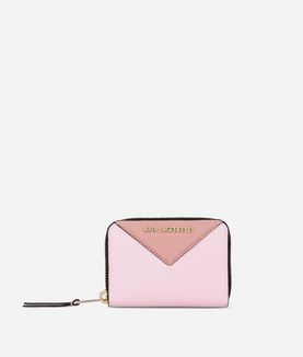 KARL LAGERFELD K/KLASSIK SMALL ZIP-AROUND WALLET