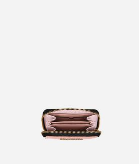 KARL LAGERFELD K/KLASSIK SMALL ZIP AROUND WALLET