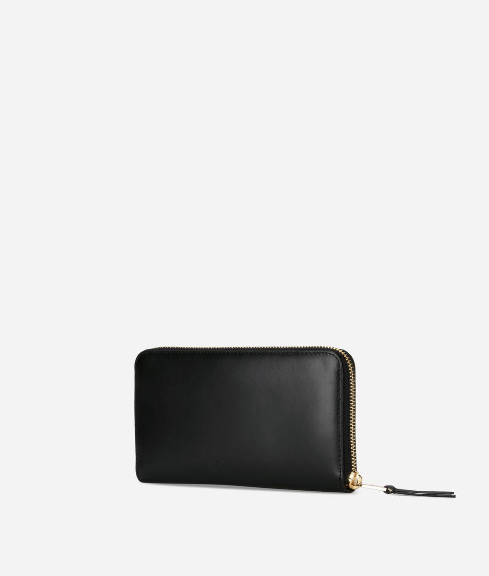 KARL LAGERFELD Portefeuille à contour zippé K/Signature Portefeuille Femme d