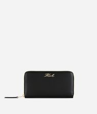 KARL LAGERFELD K/Signature Zip-Around Wallet 9_f