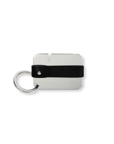 MAISON MARGIELA Key holders Man Calfskin and brass key ring f