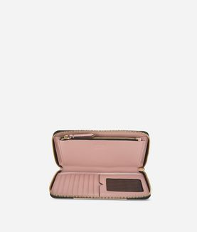 KARL LAGERFELD K/KLASSIK ZIP-AROUND WALLET