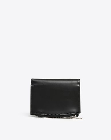 MAISON MARGIELA Wallet U Calfskin wallet with coin pouch f