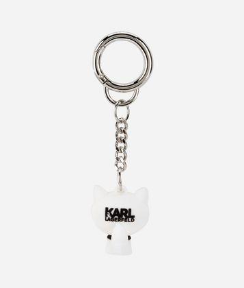 KARL LAGERFELD K/IKONIK 3D CHOUPETTE KEYCHAIN