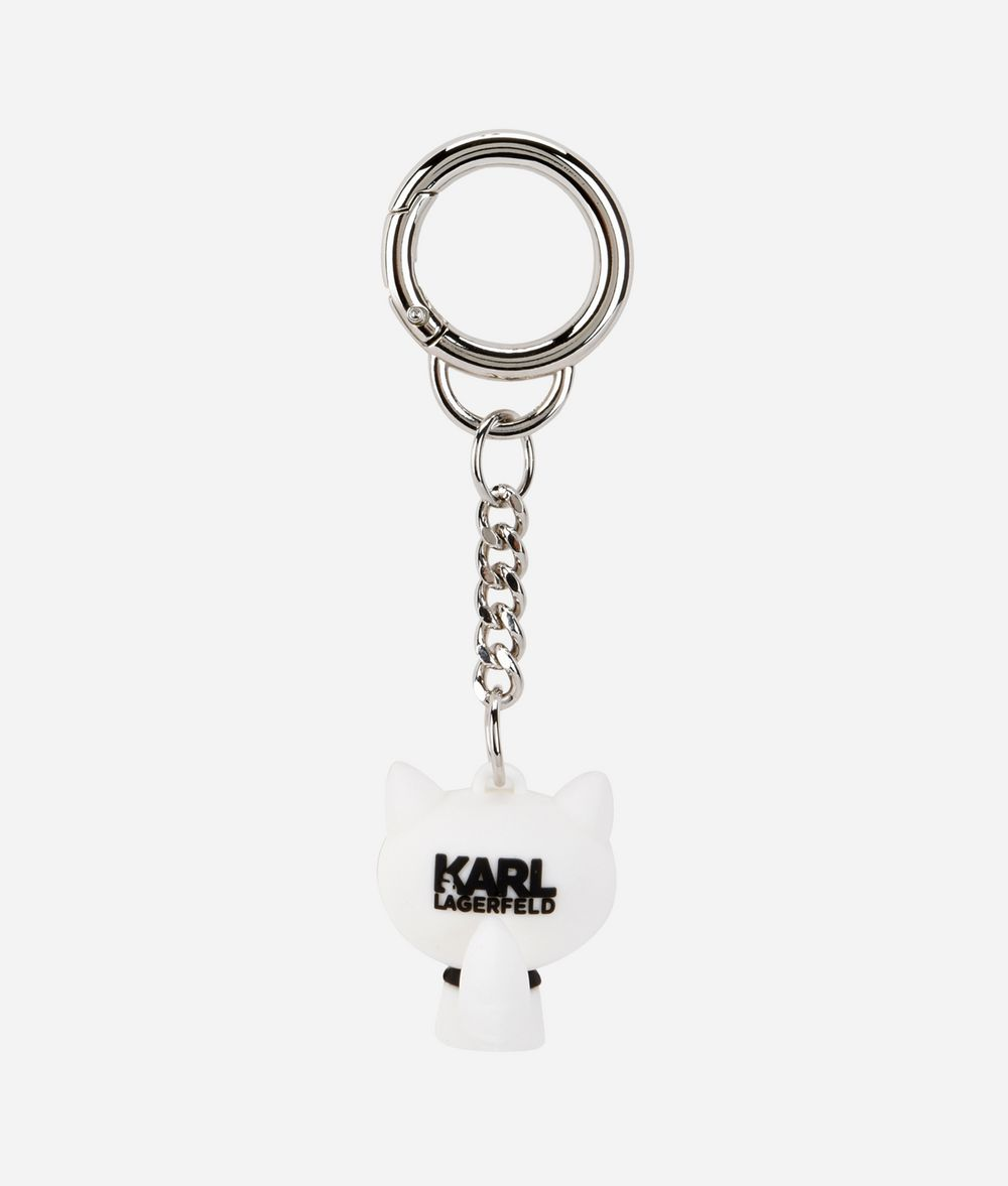 KARL LAGERFELD K/Ikonik 3d Choupette Keychain Key Chain Woman r