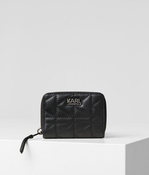 KARL LAGERFELD K/Kuilted all Zipper Wallet 12_f