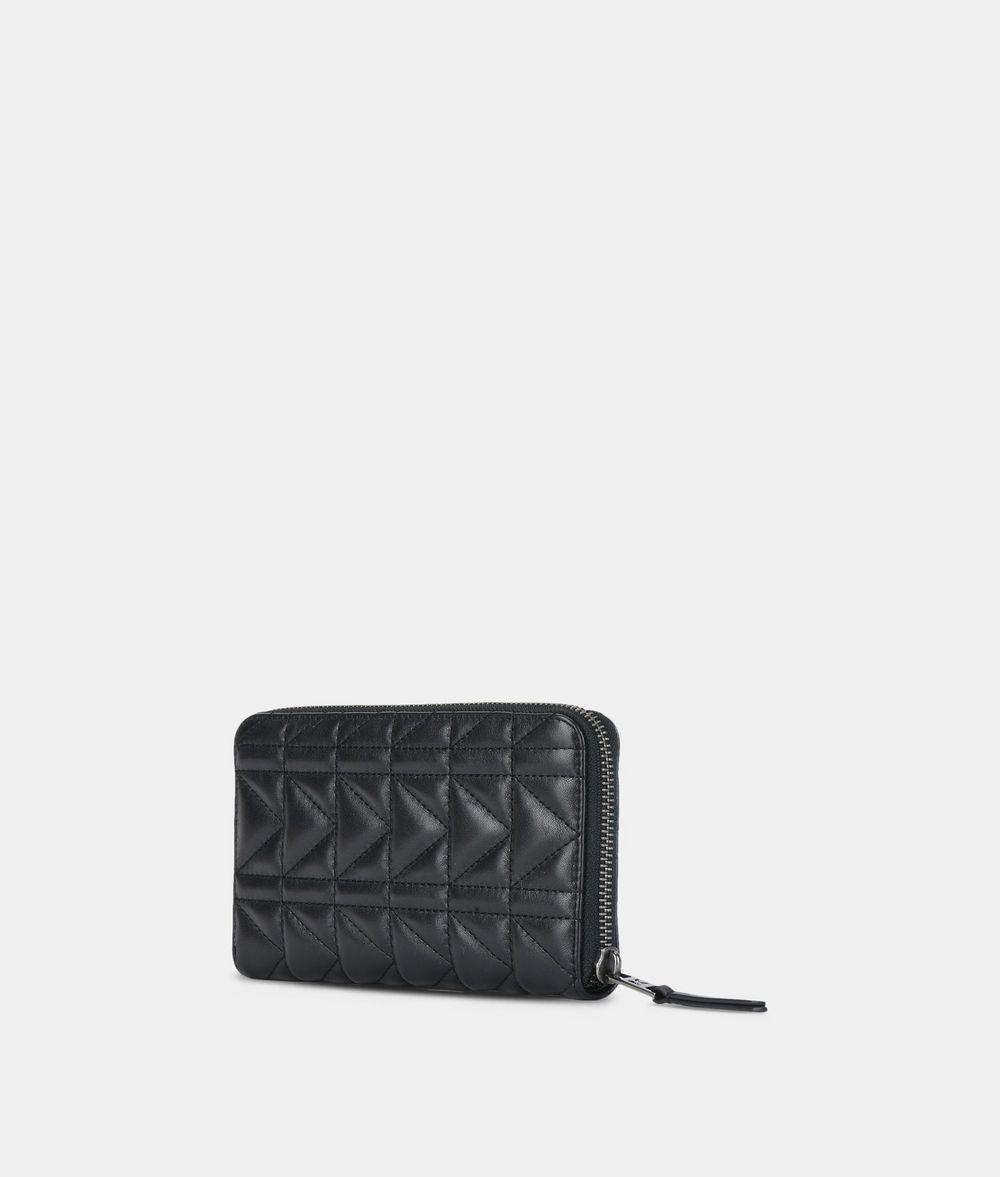 KARL LAGERFELD K/Kuilted Zip-Around Wallet Wallet Woman d