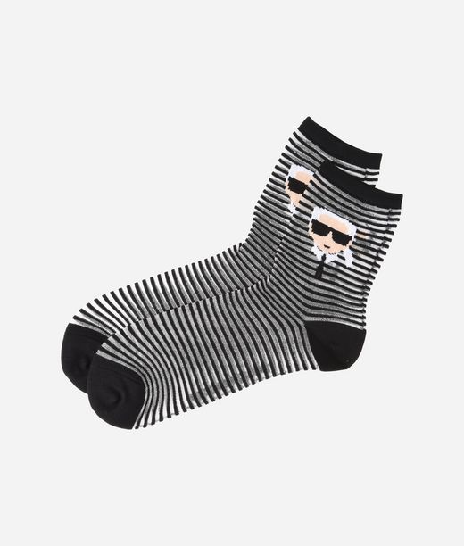 KARL LAGERFELD K/Ikonik Striped Socks 12_f