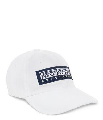 NAPAPIJRI FLON  CHAPEAU,BLANC BRILLANT
