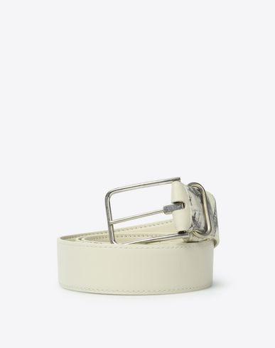 MAISON MARGIELA Belt Man Dollar-print belt f