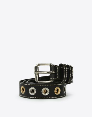 MAISON MARGIELA Belt Man Leather eyelet belt f
