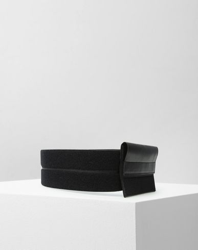 MM6 MAISON MARGIELA Belt Woman Belt with leather pouch f
