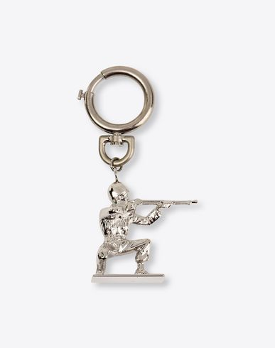 MAISON MARGIELA Key holders Man Army figurine key ring f