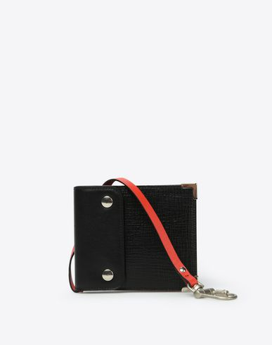 MAISON MARGIELA Wallets U Calfskin wallet with belt hook f