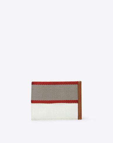 MAISON MARGIELA Wallet Man Woven PVC wallet f