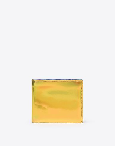 MAISON MARGIELA Wallet Man Metallic calfskin wallet f