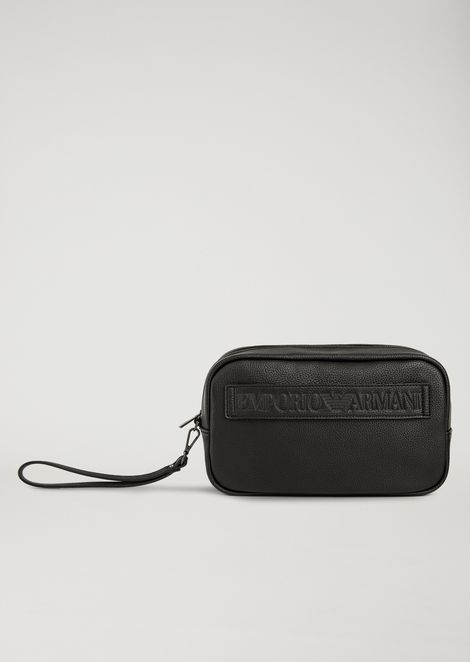 WASH BAG WITH MAXI LOGO