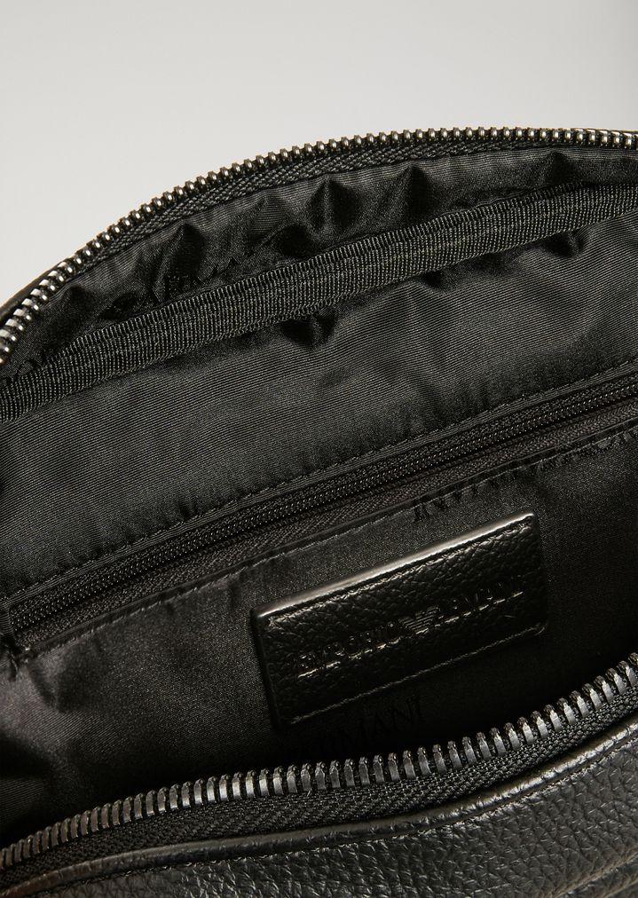 ... WASH BAG WITH MAXI LOGO. EMPORIO ARMANI 03b998ce5177c