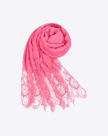 "VALENTINO SETA Shawl D Silk scarf 70x180 cm / 27.6x70.8"" f"