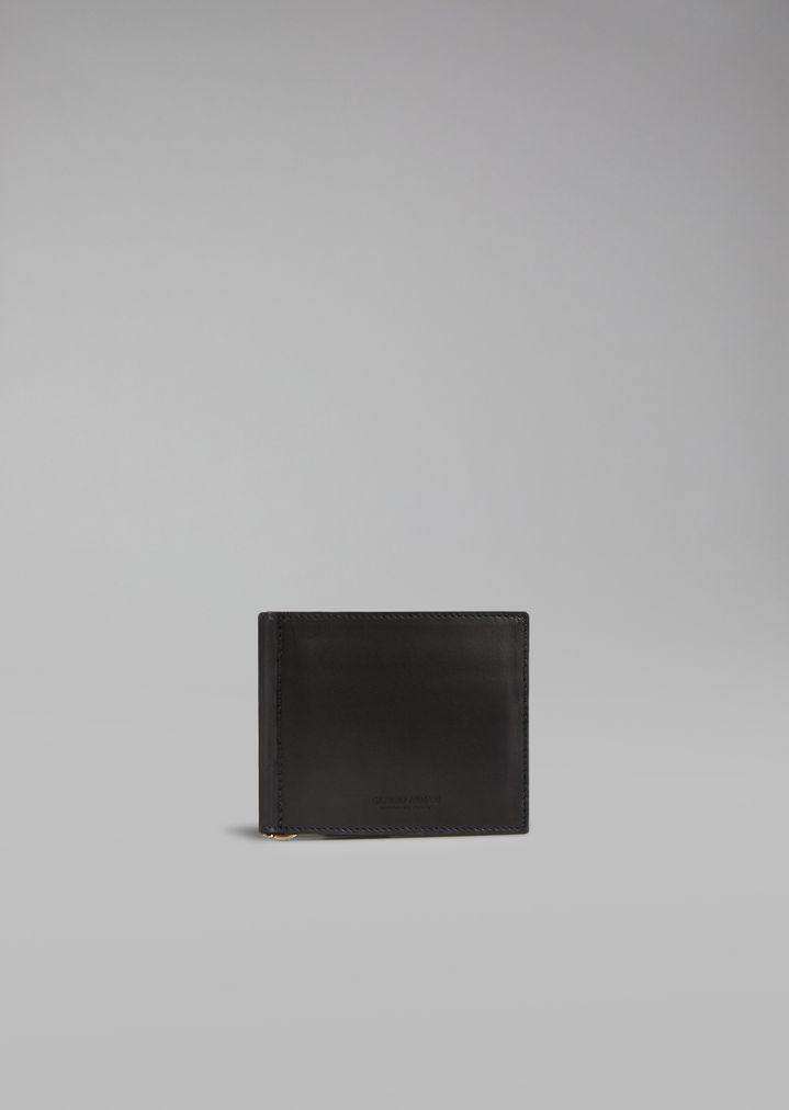 61cce37ac5 Portafoglio con fermasoldi | Uomo | Giorgio Armani