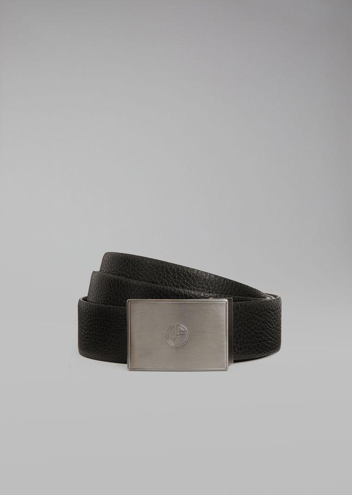 l'atteggiamento migliore c76a1 82912 Cintura reversibile In Pelle   Uomo   Giorgio Armani