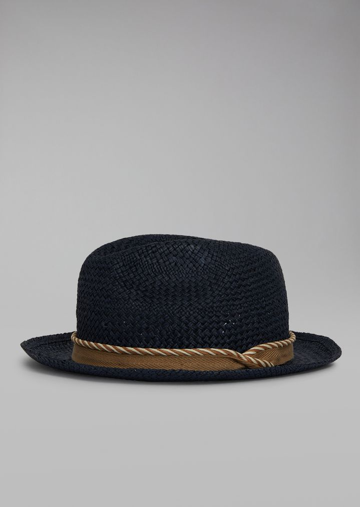 d01f71194bdc6 Hat in woven paper with cord
