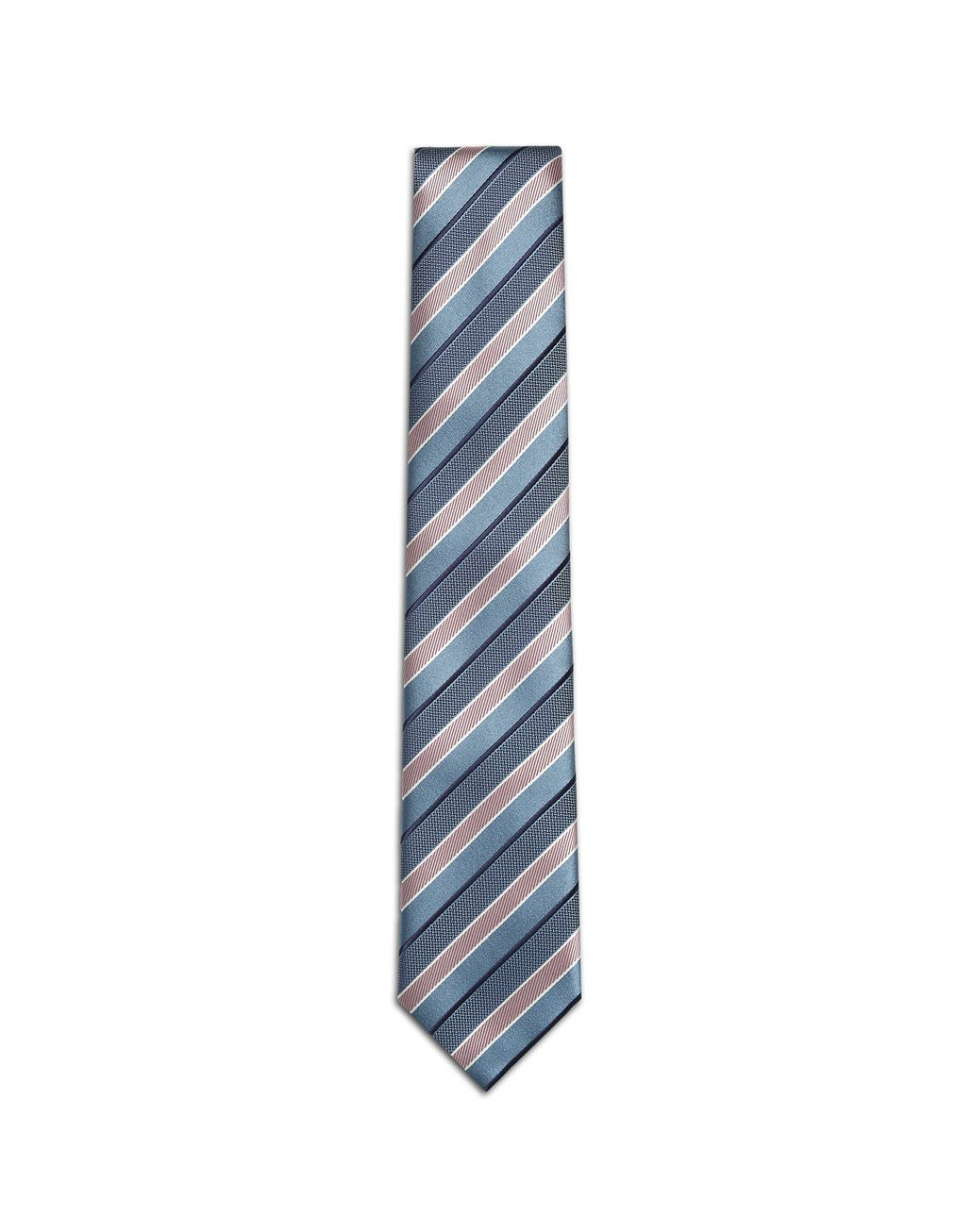 BRIONI Bluette Regimental Tie Tie Man f